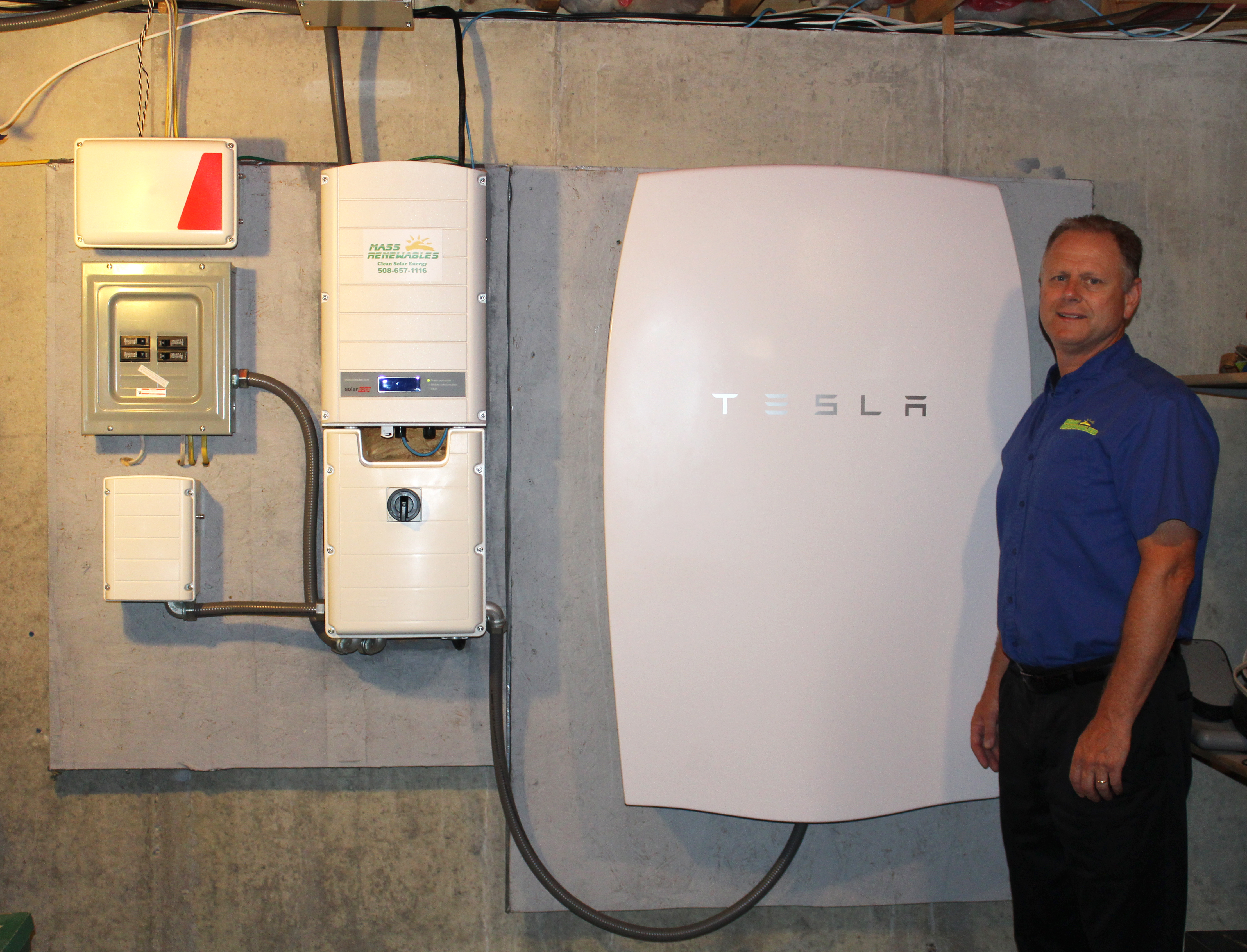 Mass Renewables Becomes Tesla Powerwall Installer For Ma