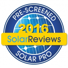 Our National SolarReviews Rating in 2016