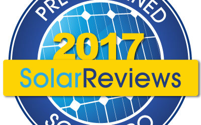 SolarReviews Top 100 in 2017